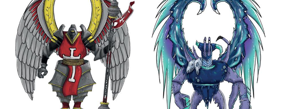 Concept Art - Personnages cartoons