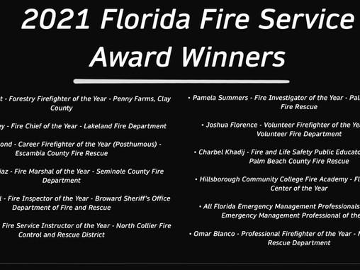 We Salute Florida's 2021 Fire Service Award Winners | Congrats and Onward!