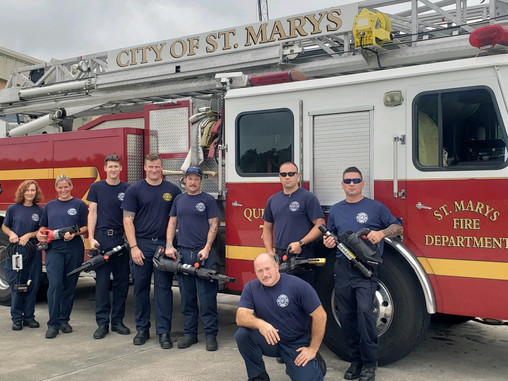 St. Marys Georgia FD Gets First Battery Tools
