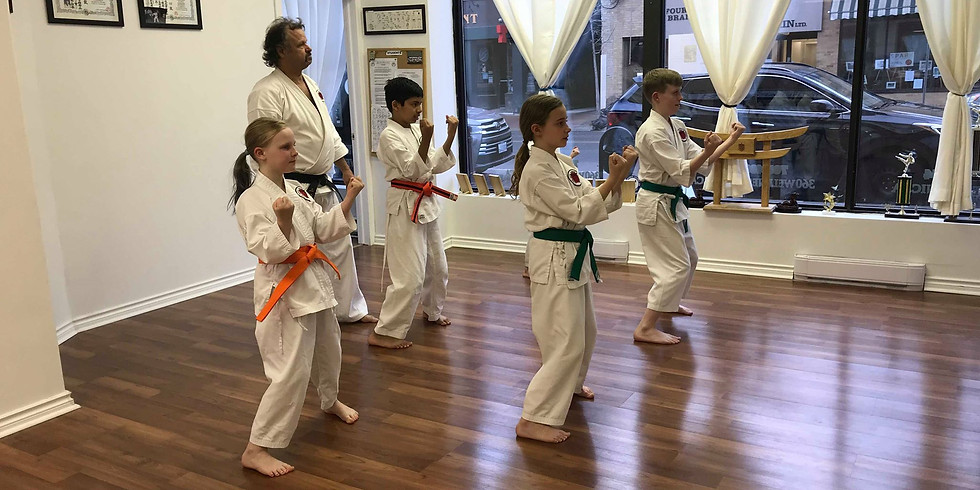 Kid's Class (6-16 years old) All Belts