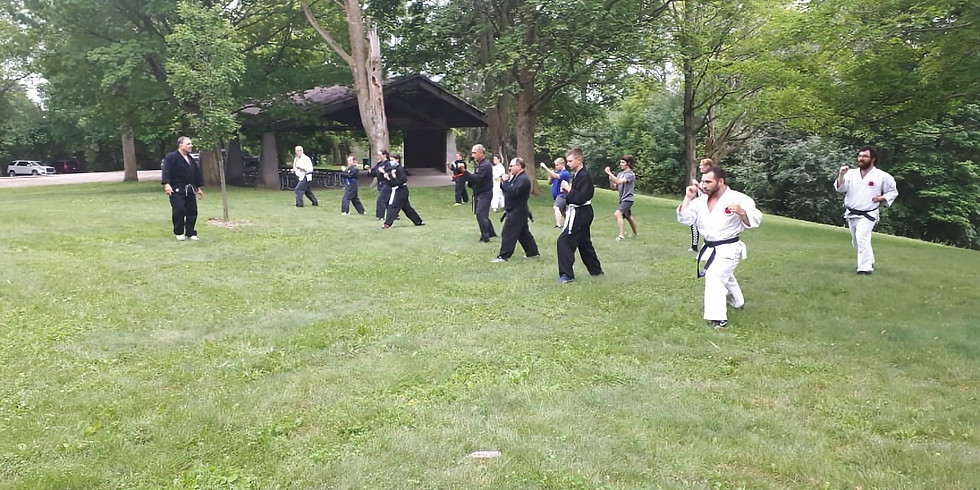Mixed Class (6 and up, all belts) July 24th