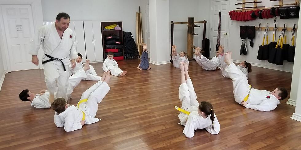 Kids Kyu Belts (6-16) July 28th