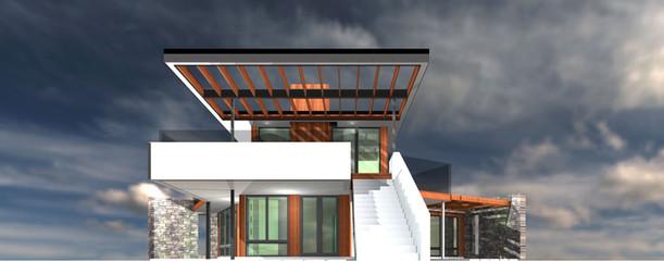 Mystree Estate House Render