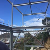 Steel Frame Under Construction