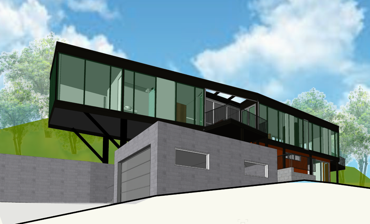 Kingspan, Concrete & Steel House Render