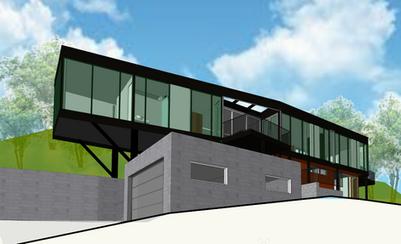 Kingspan, Concrete& SteelHouse Render