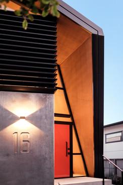 Satchell Way, Entrance - Photo by David Hensel