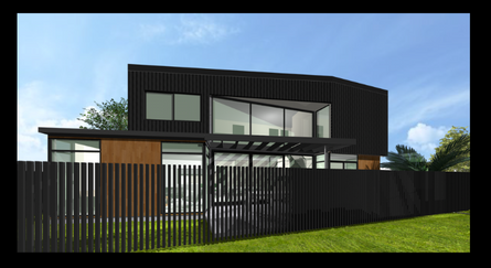 Point Chevalier Townhouses, Render