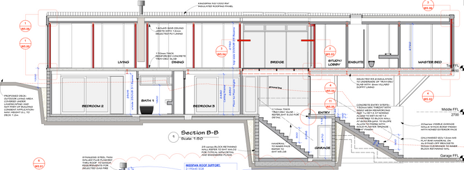 Kingspan, Concrete& SteelHouse Drawings