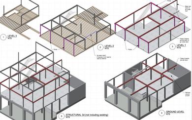 Mixed Use Apartment Under Development