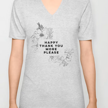 Floral - Happy Thank you More Please
