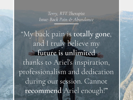 What's Holding You Back? Terry's Testimonial