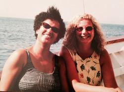 Jennifer Swann & I in capri