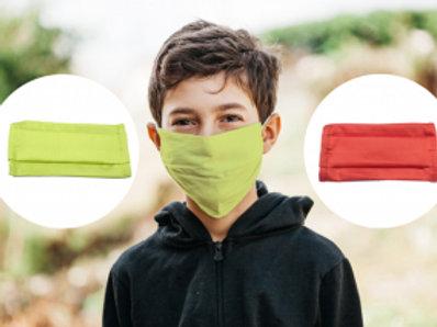 Lot de masques tissu enfants