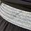 Thumbnail: חצאית שחורה גומי כסף