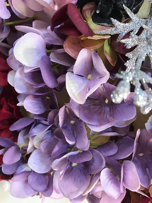פרח עיצוב לכיסוי