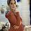 Thumbnail: שמלת טריקו חמרה וחולצה