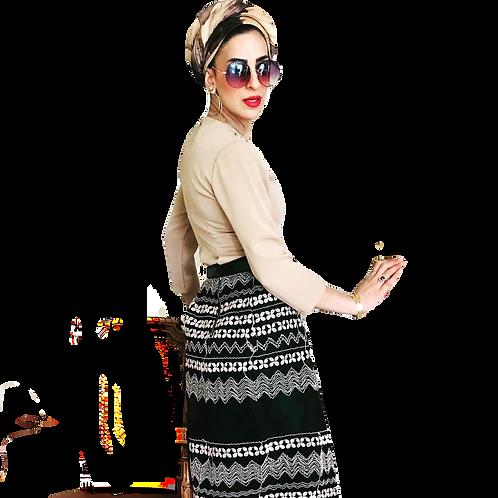 חצאית רקמה מושלמת