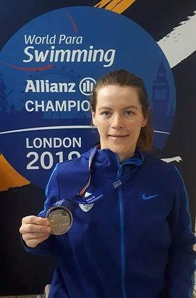 alexandra stamatopoulou silver medal Lon