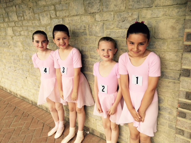 Ballet Girls Exam Pic