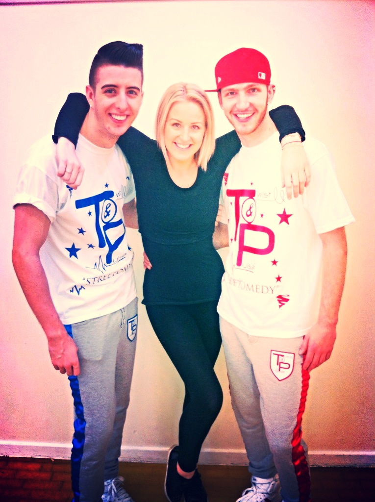 Twist and Pulse from BGT came to visit us for the day!
