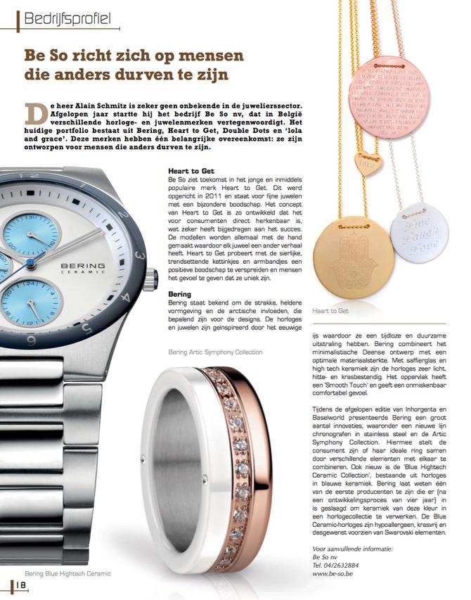 Be So in Prestige Magazine !