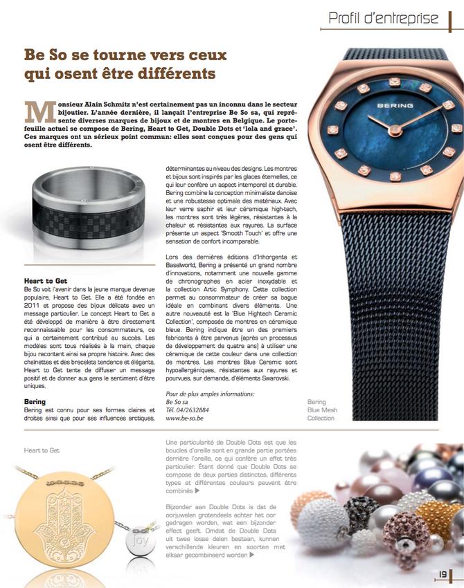 Be So dans Prestige Magazine !