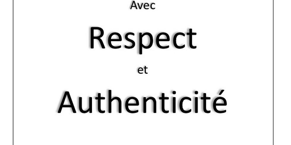 Sortie du livre: S'affirmer avec respect et authenticité