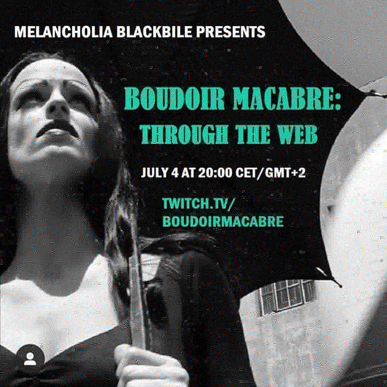 Boudoir Macabre: Through the Web
