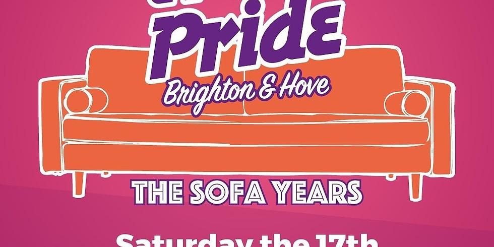 Trans Pride Brighton 2021: The Sofa Years