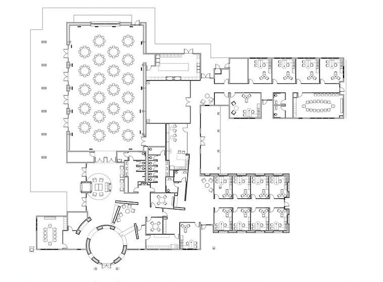 Community Center - floor plan