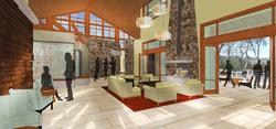 Community Center - reception