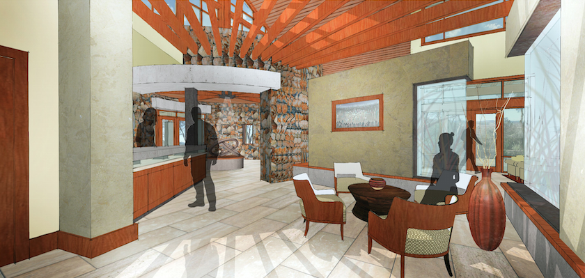 Community Center - lobby