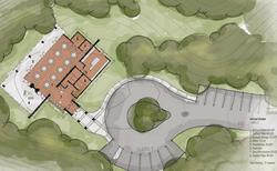 Retreat - site plan