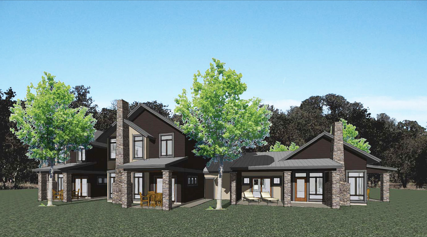 Townhome - back