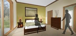 Townhome - bedroom