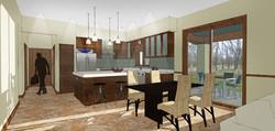 Townhome - kitchen