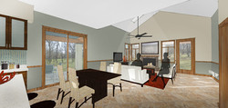 Townhouse - Living Room