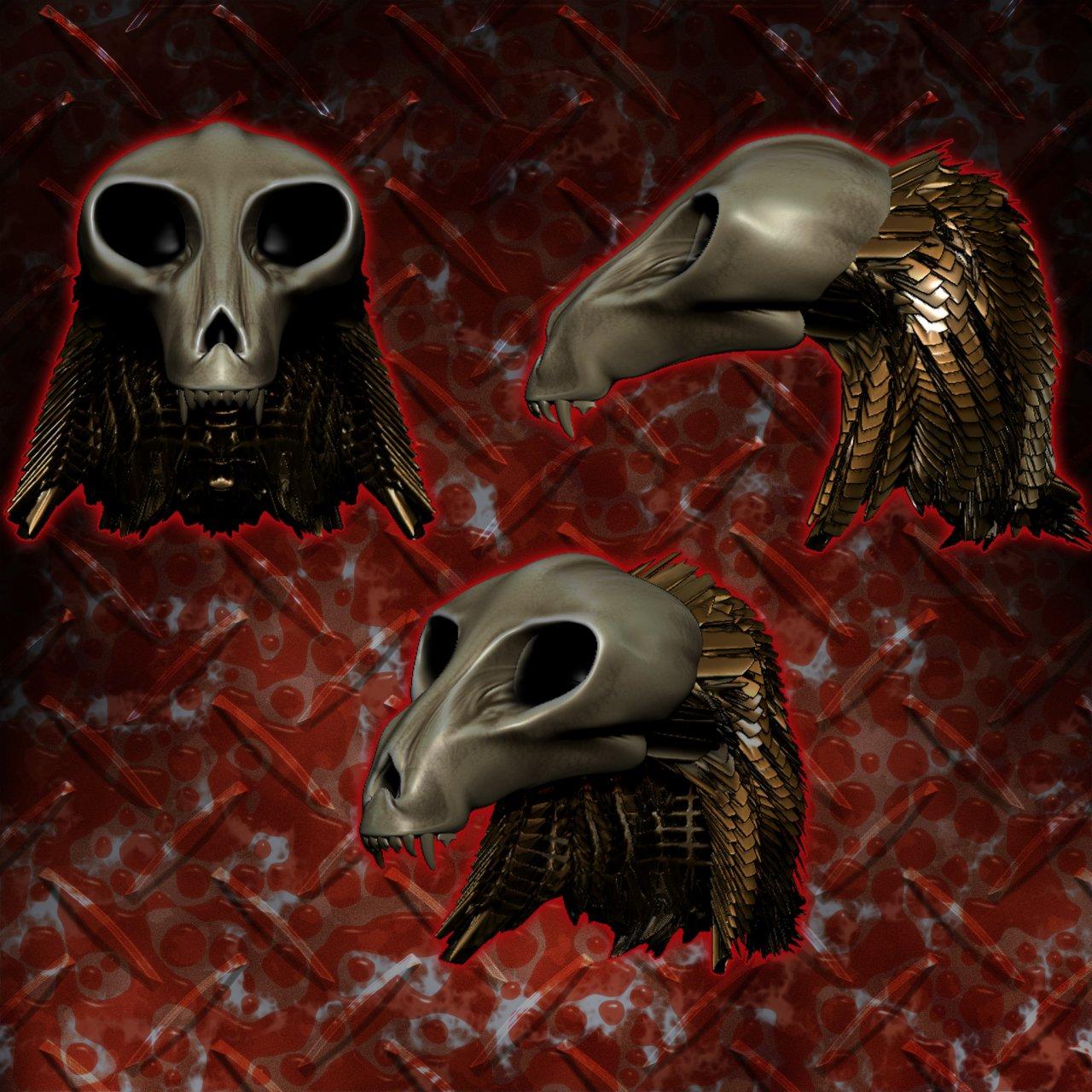 Skull Mask (Zbrush)