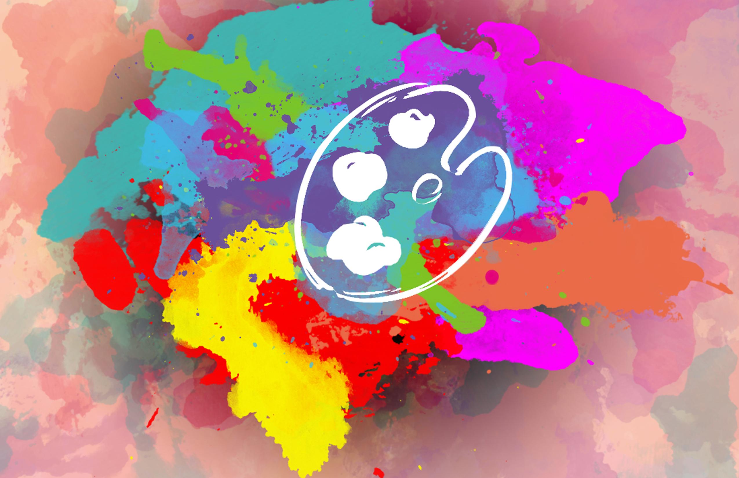 Artistic graphic/Splash page