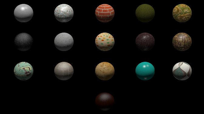 1950's inspired Textures/Materials