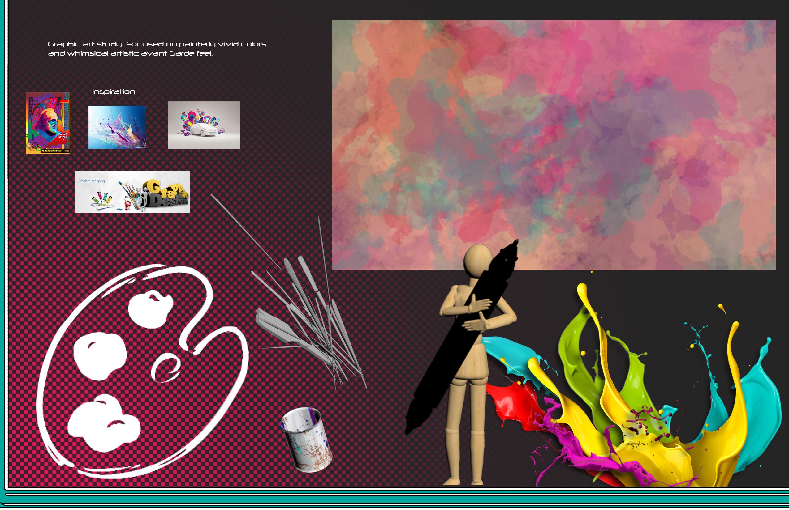 Graphic illustration studies