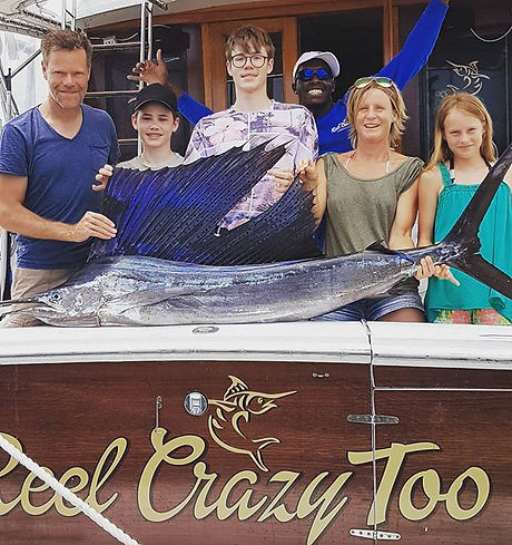 Another good day on the Reel Crazy Too.jpg We tried to revive this sailfish for a release but he was
