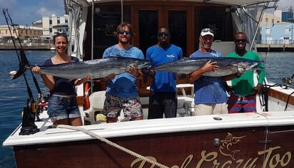 Wahoo caught in Barbados