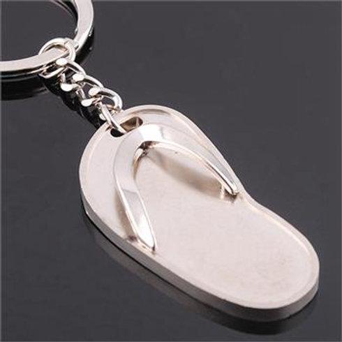 Porte clefs tong,porte clefs original,porte clefs argent,