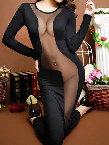 Robe déshabillé sexy érotique nuit