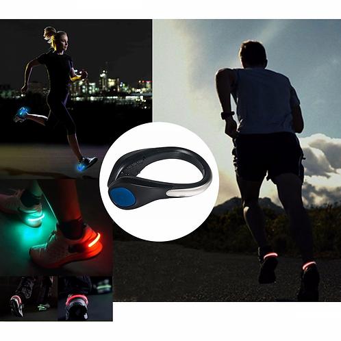 clip chaussures LED sécurité