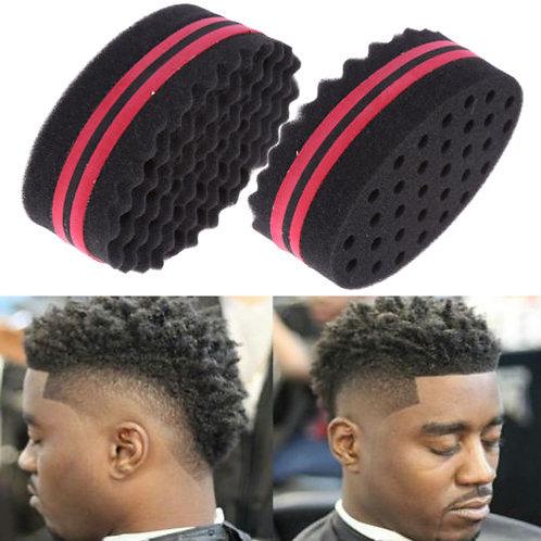 brosse éponge afro,brosse cheveux afro,éponge structurante,