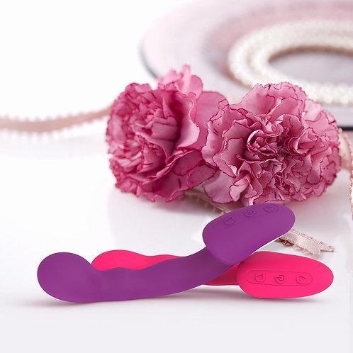 vibro vibromasseur gode clito clitoris rechargeable usb 19,5 cm waterproo