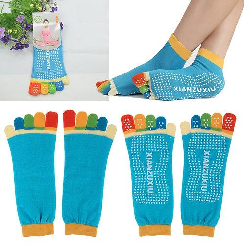 chaussettes de yoga,chaussettes fantaisies,chaussettes originales,tenue de yoga,